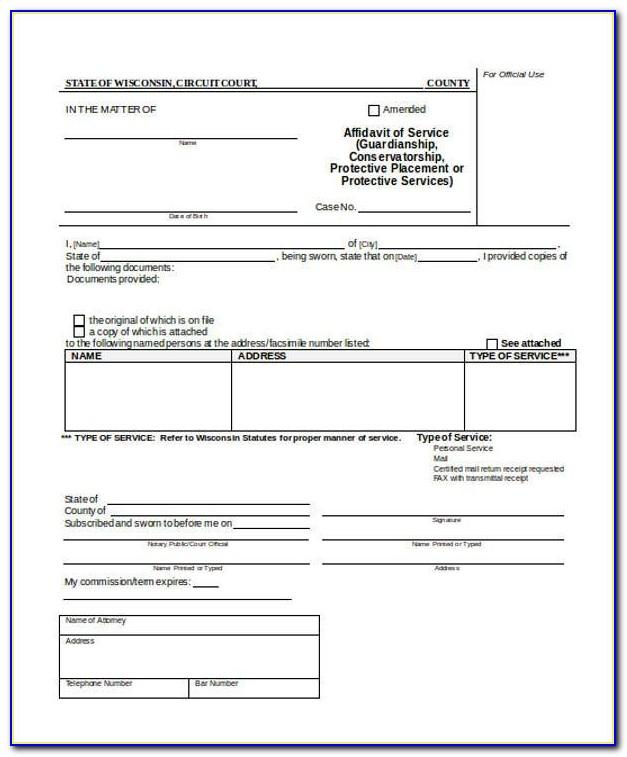 Sss Form Affidavit Of Guardianship