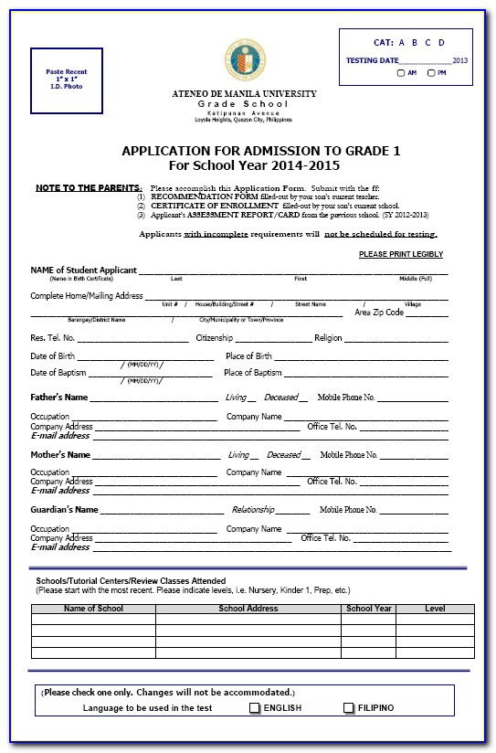 Stellenbosch University Application Forms 2018 Pdf