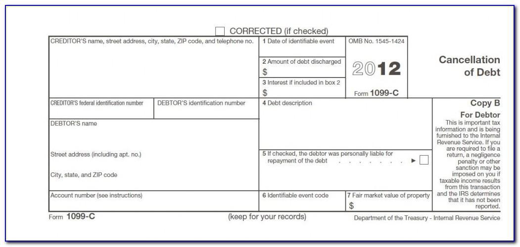 Student Loan Forgiveness Tax Form