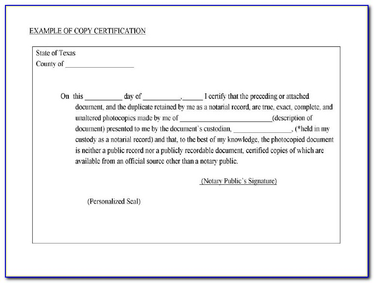 Texas Notary Renewal Forms