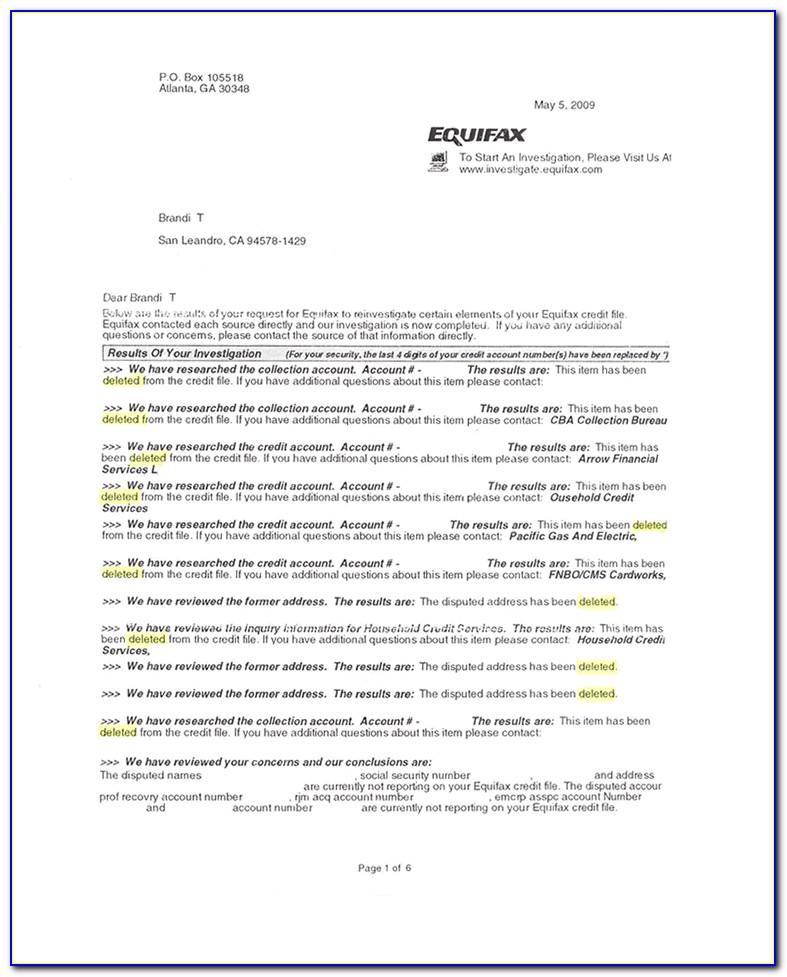 Transunion Free Credit Report Form Canada