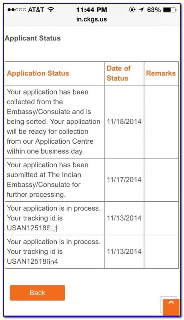 Travisa India Visa Application Form