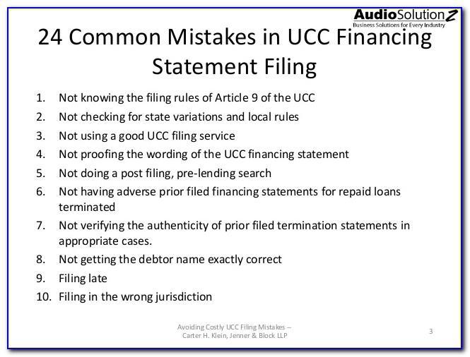 Ucc Filing Forms Oklahoma