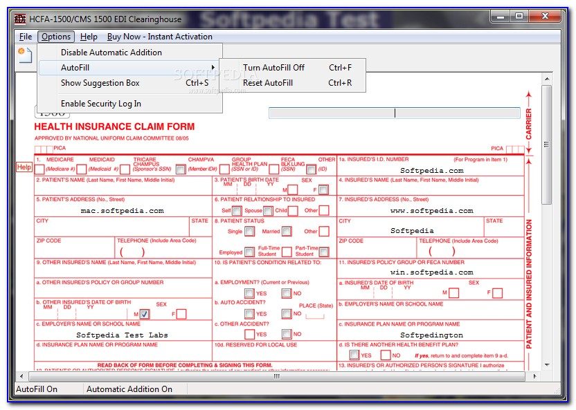 What Is Hcfa 1500 Form