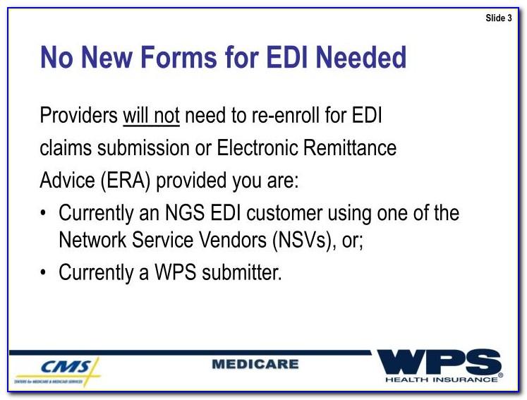 Wps Medicare Part B Edi Enrollment Form