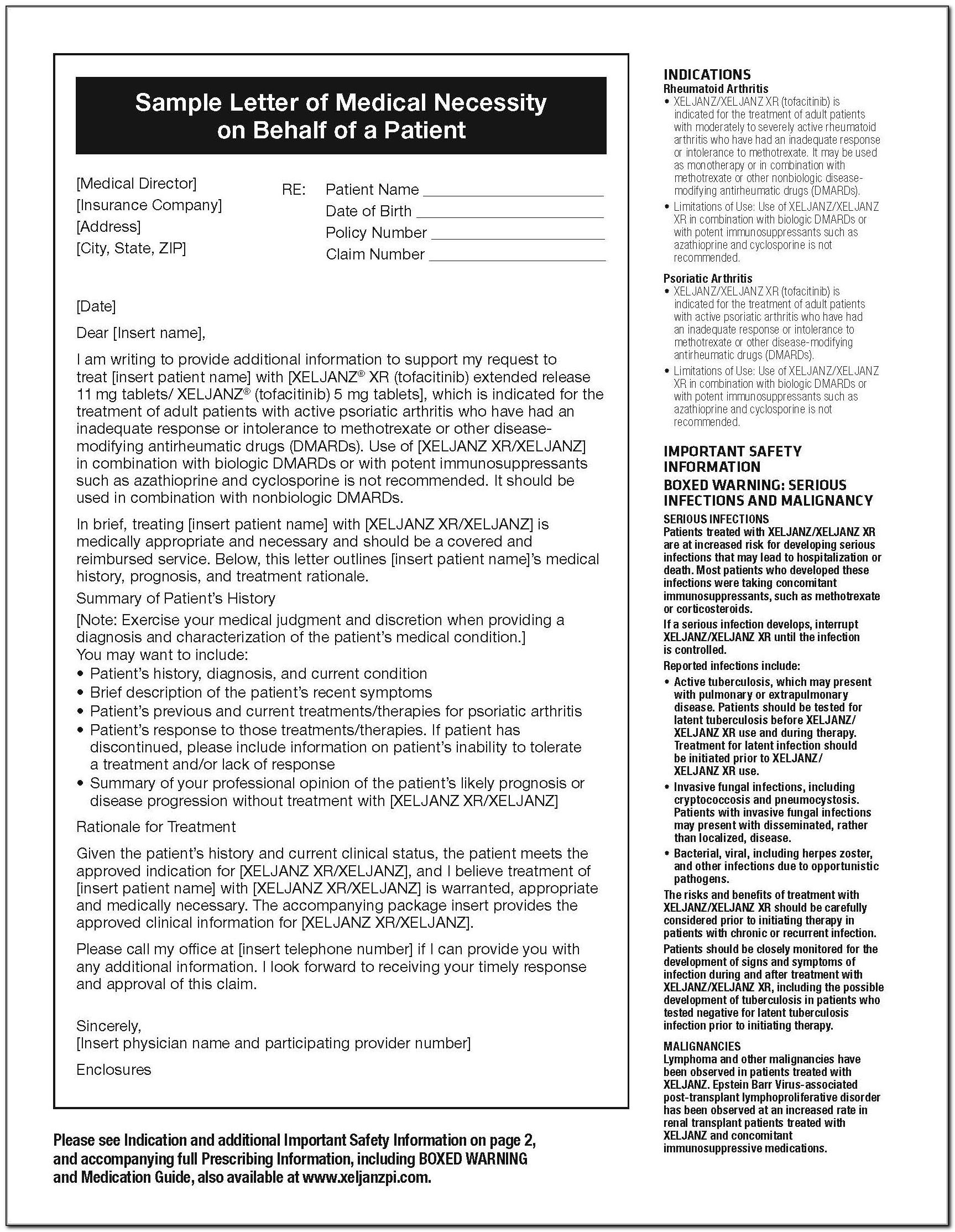 Xelsource Patient Assistance Application