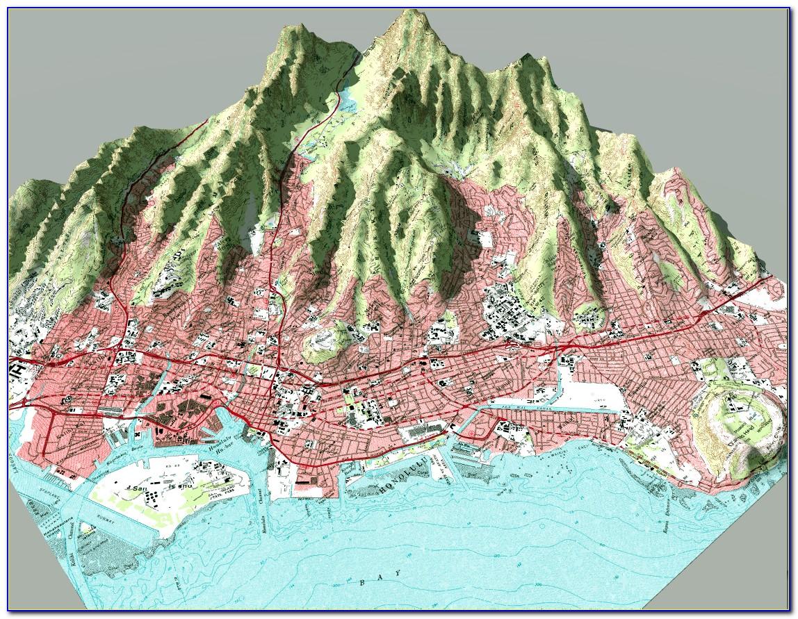3d Topo Map Colorado