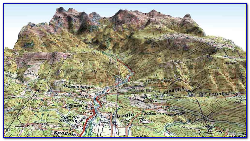3d Topo Map Software