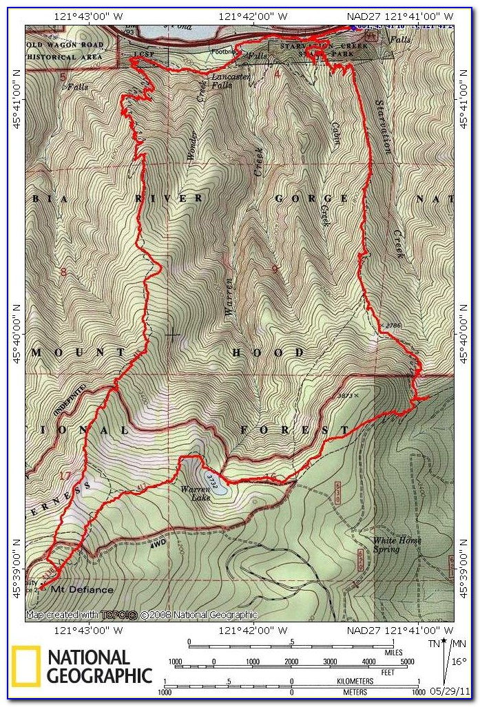 3d Topographical Map Of Oregon