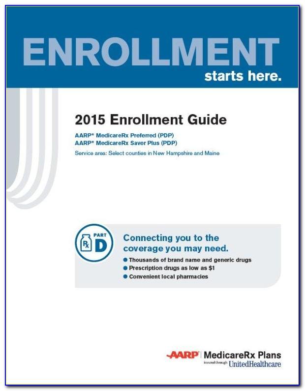 2015 Pdp Enrollment Guide