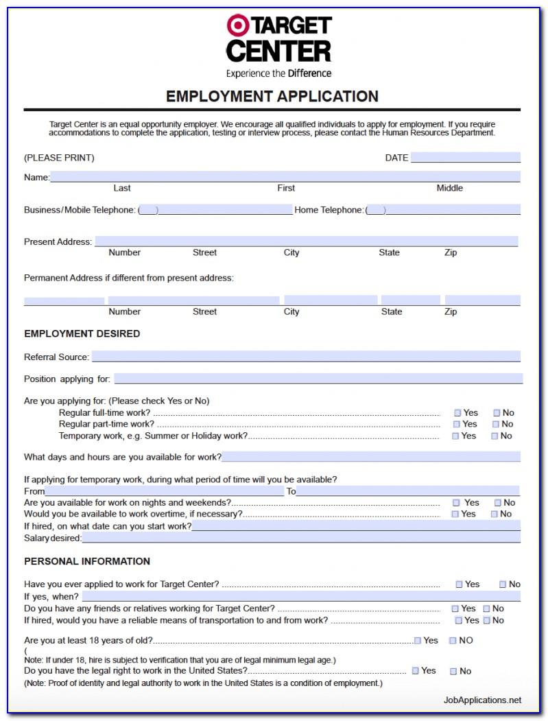 Ac Moore Job Application Form
