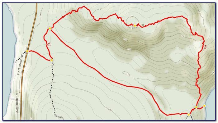 Acadia National Park Bike Trail Map