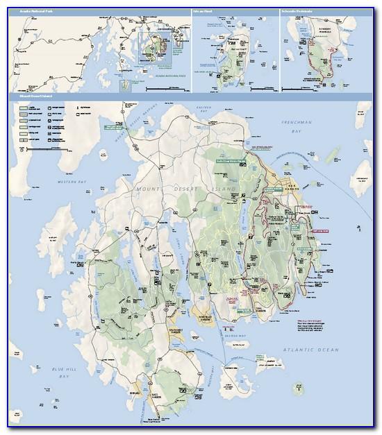 Acadia National Park Trail Map Pdf