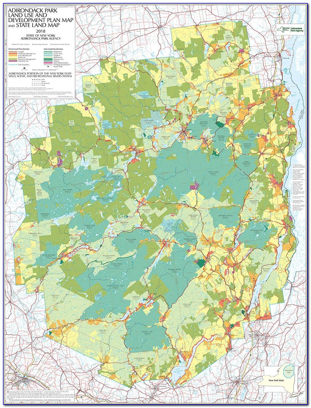 Adirondack Trail Map App
