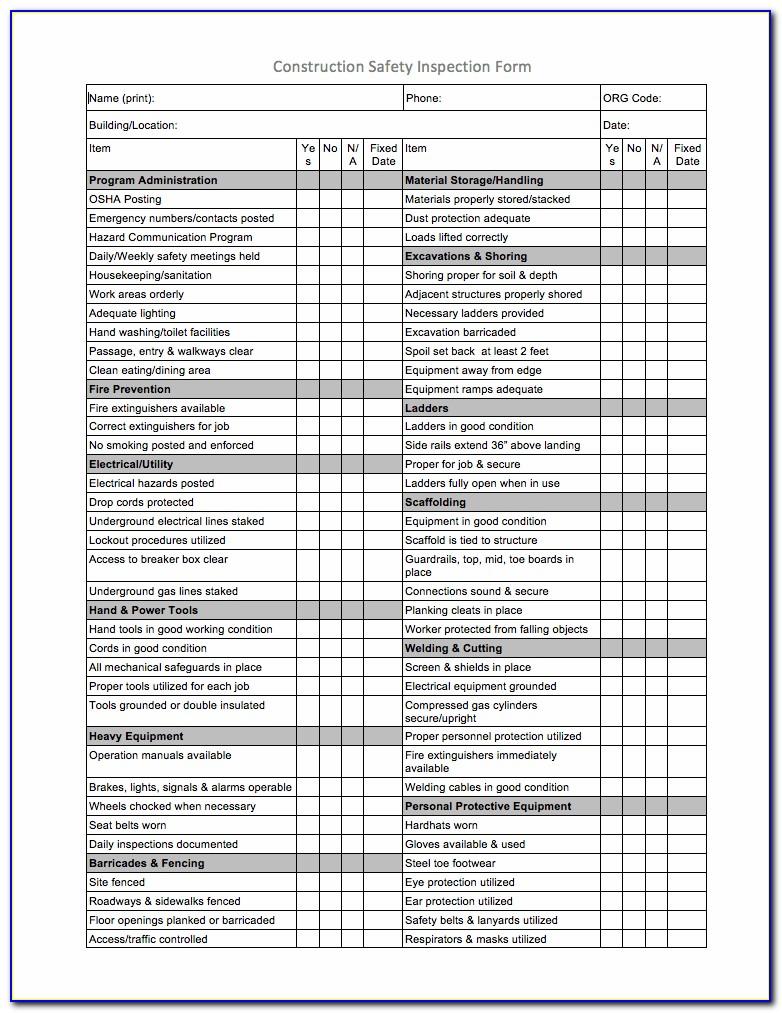 Aed Checklist Template