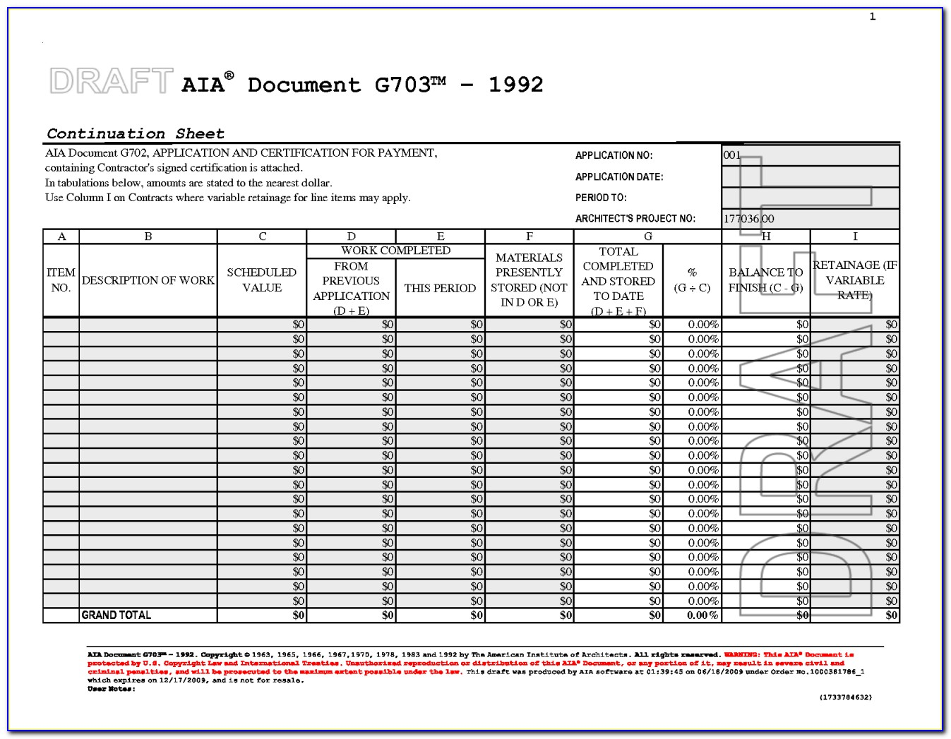 Bunch Ideas Of Aia Form G703 Excel With Additional Aia Form G702 Inside Aia Payment Application Form