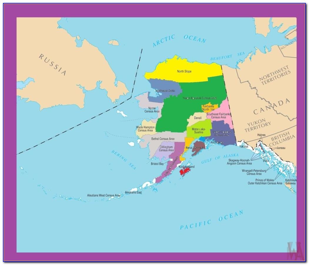 Alaska Gps Topo Maps