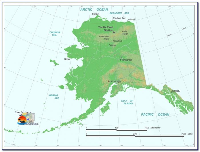 Alaska Gps Trail Maps