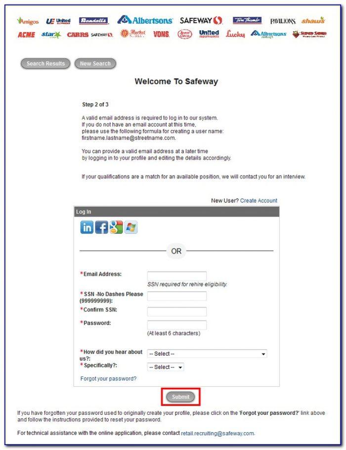 Albertsons Job Application Online