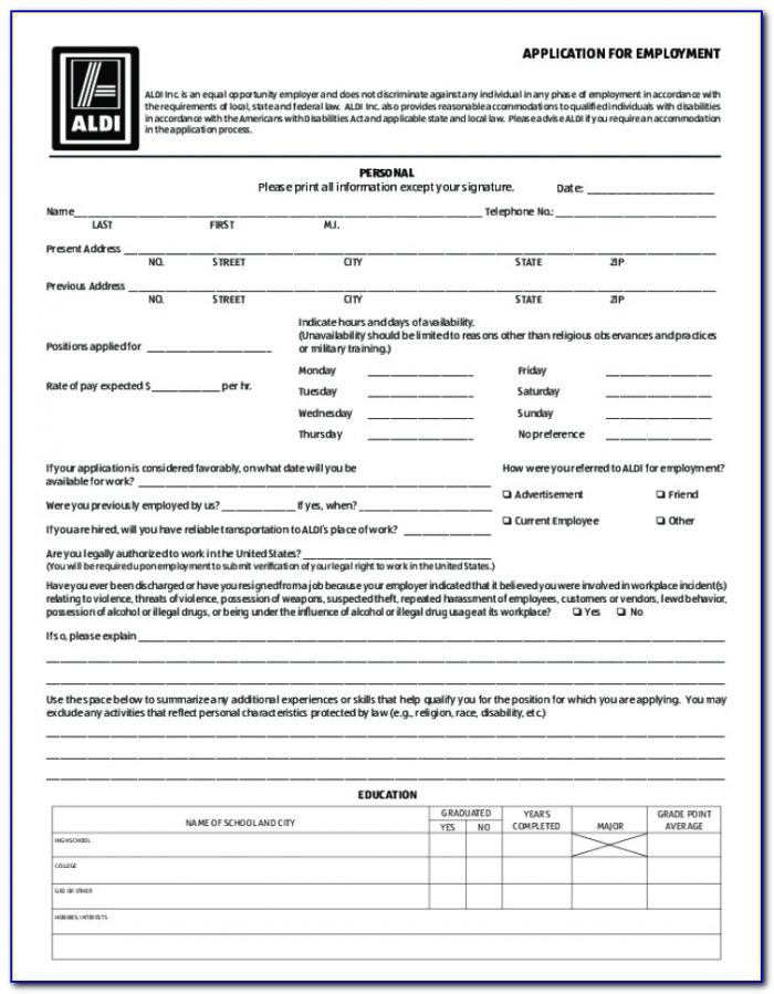 Aldis Jobs Application