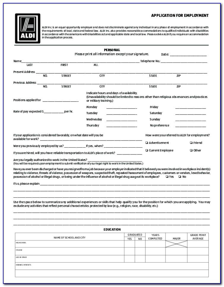 Aldis Jobs Application