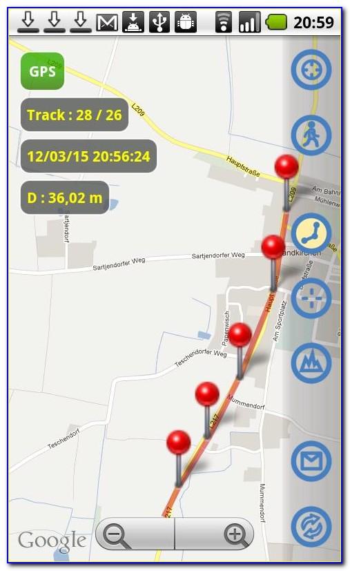 Android App Gps Tracker Google Maps