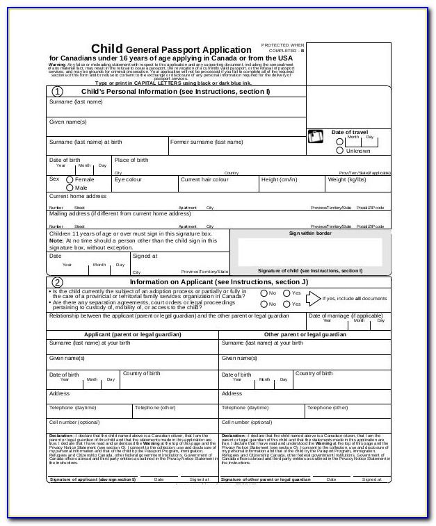 Application Form Australian Passport Renewal