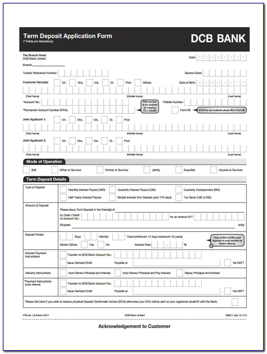 Application Form For Admission As An Advocate