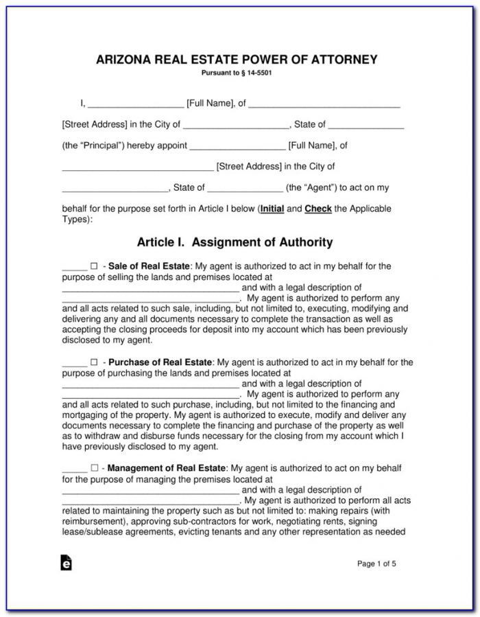 Arizona Real Estate Purchase Forms