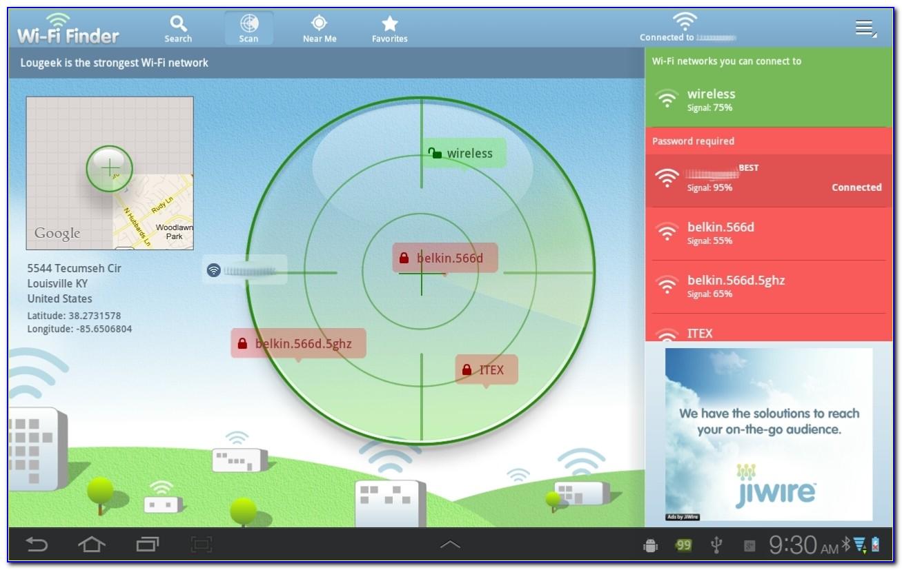 At&t Wifi Locator Map