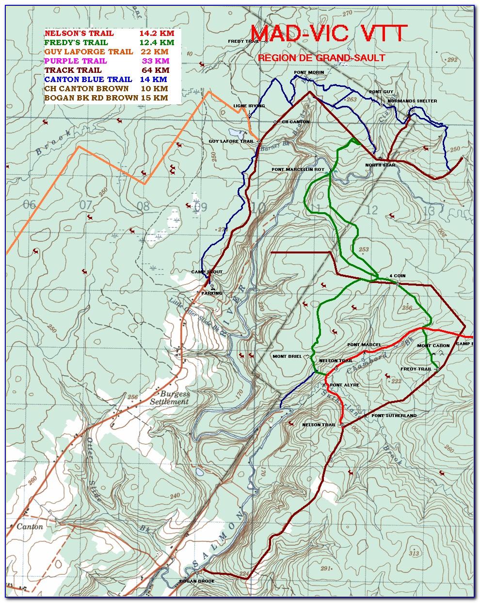 Atv Trail Maps Alberta