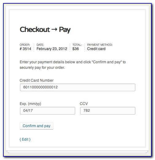 Authorize.net Embed Payment Form
