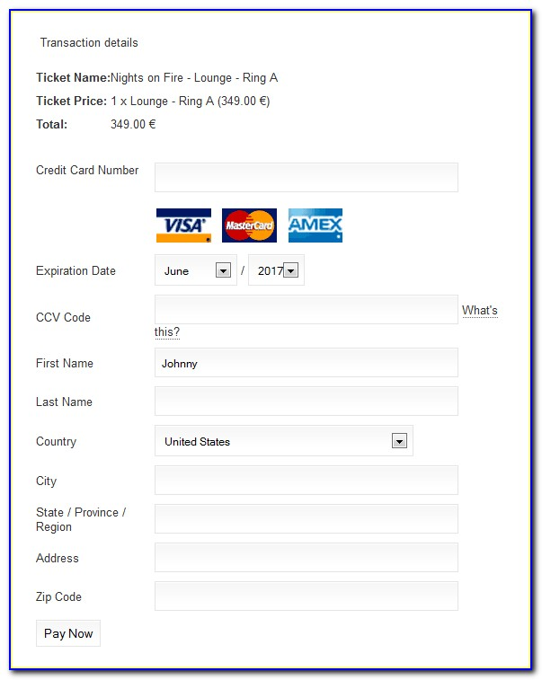 Authorize.net Hosted Payment Form Iframe