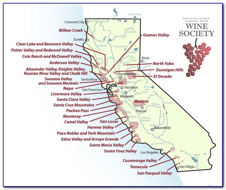 Baja California Winery Map
