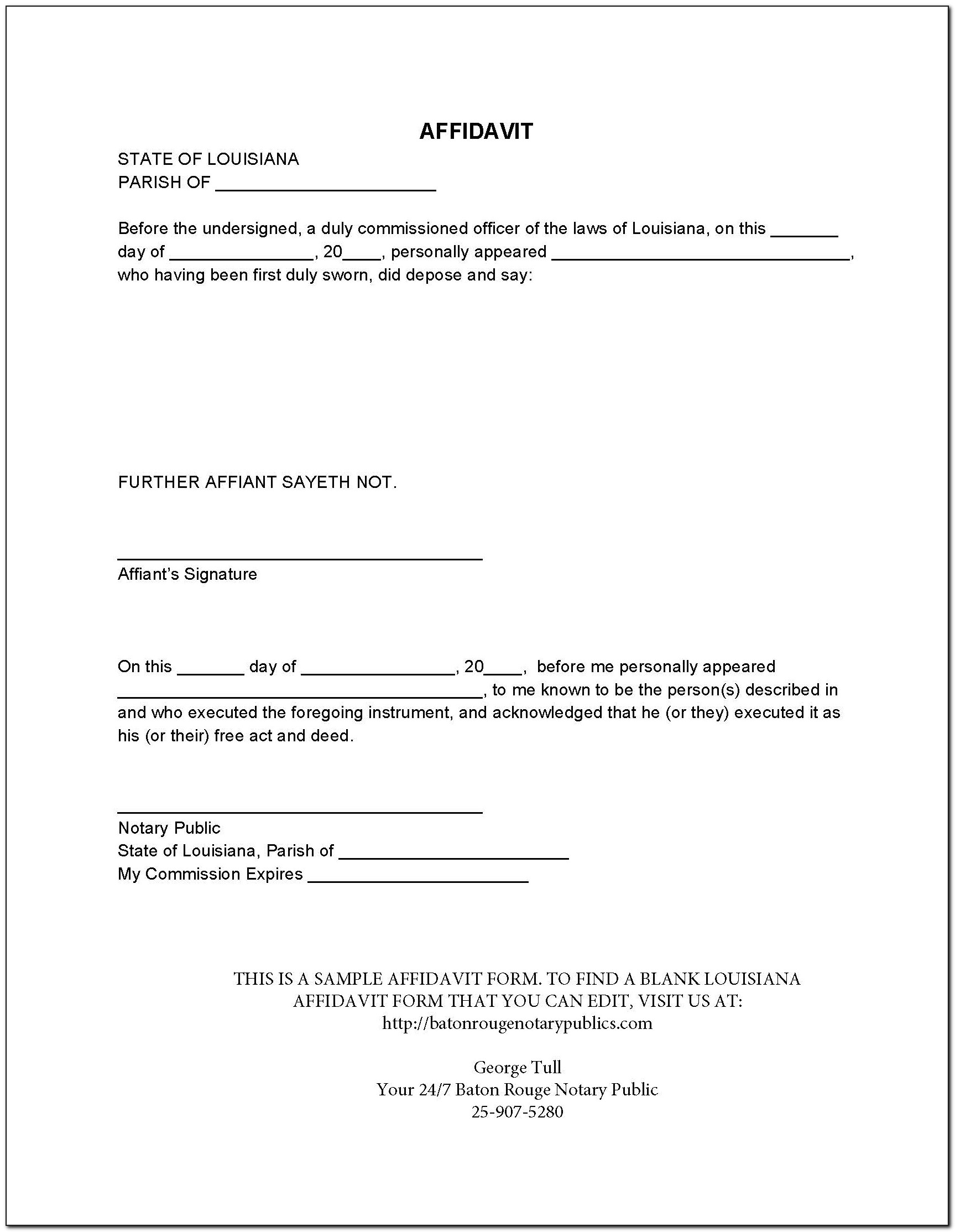 Belize Birth Certificate Application Form