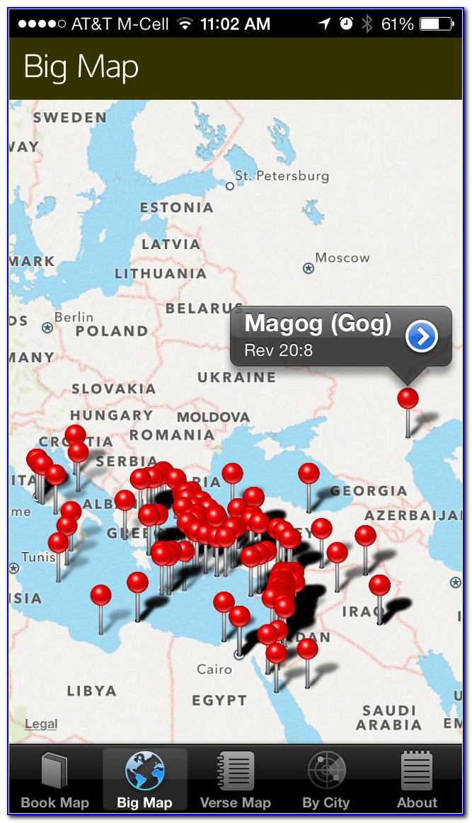 Best Bible Maps App