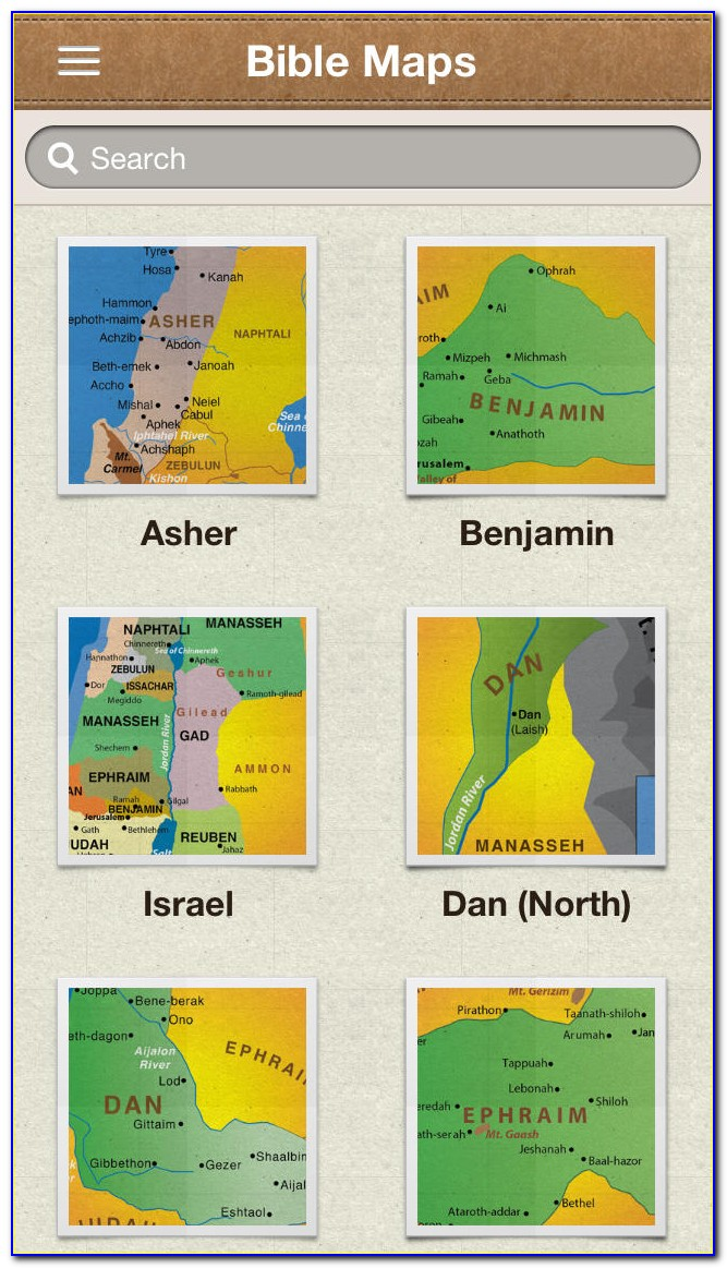 Bible Map App For Ipad