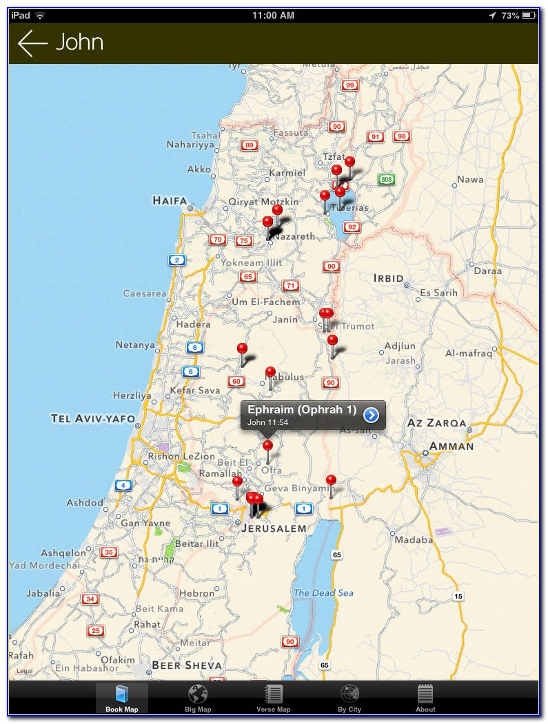 Bible Maps App Android
