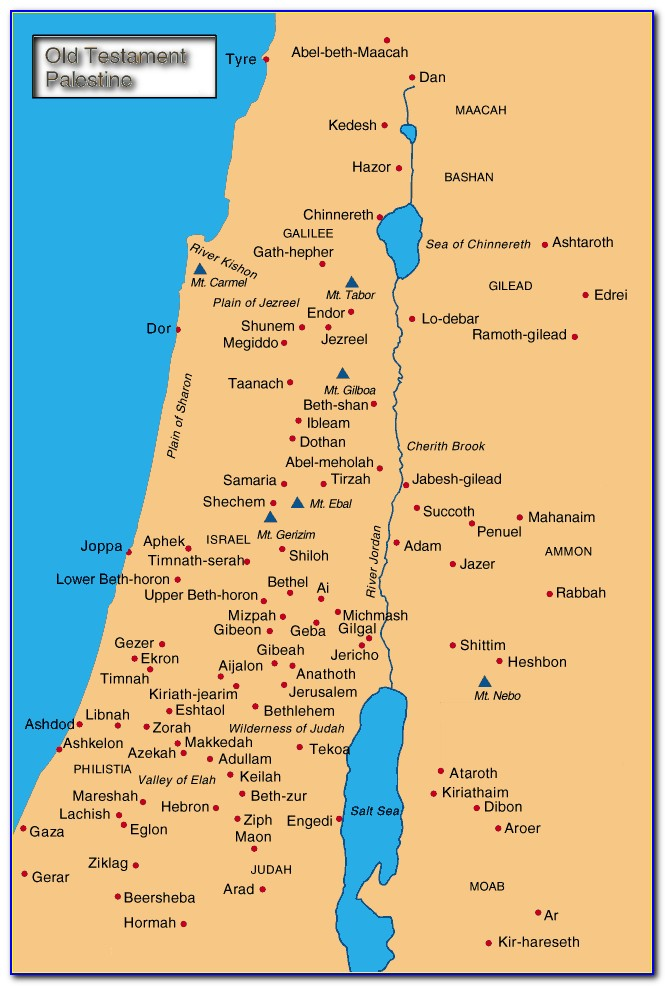 Bible Maps Old Testament Abraham