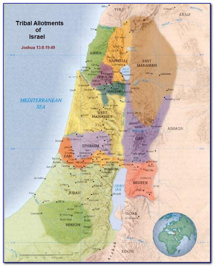 Bible Maps Old Testament Elijah