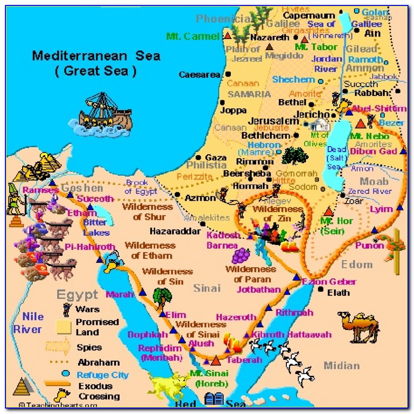 Bible Maps Old Testament Free