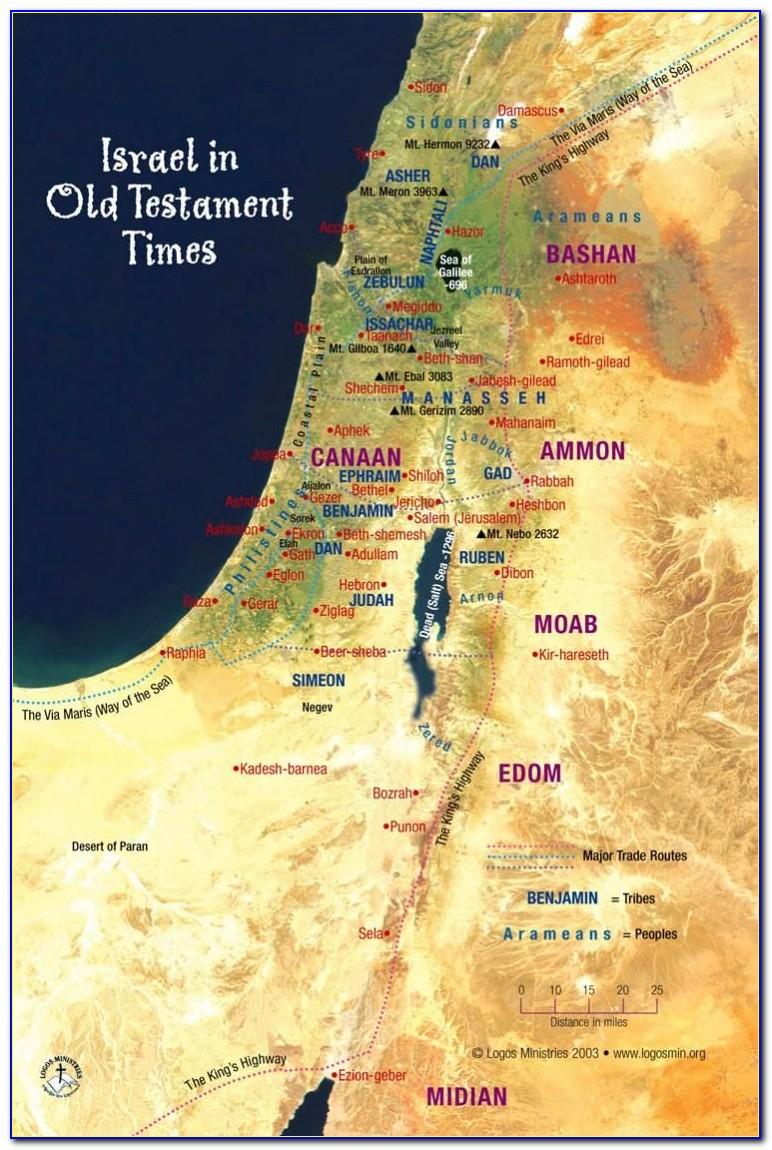 Bible Maps World Old Testament