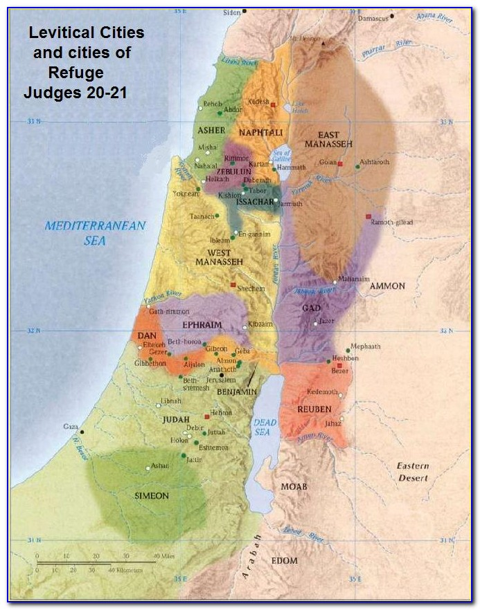Biblical Maps Old Testament