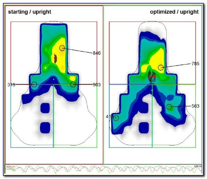 Bike Saddle Pressure Mapping