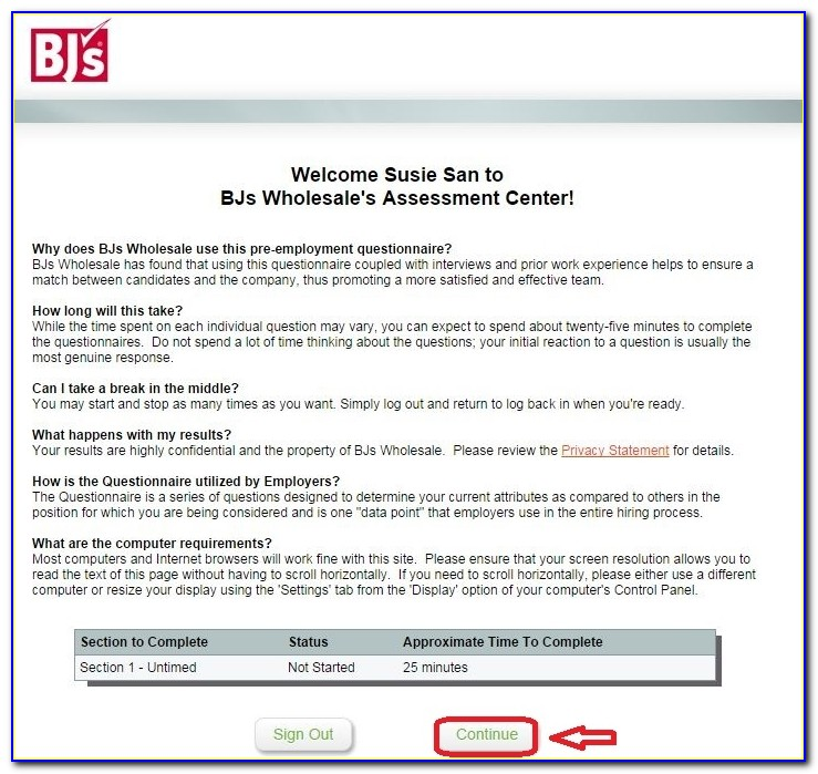 Bj's Wholesale Job Application Online