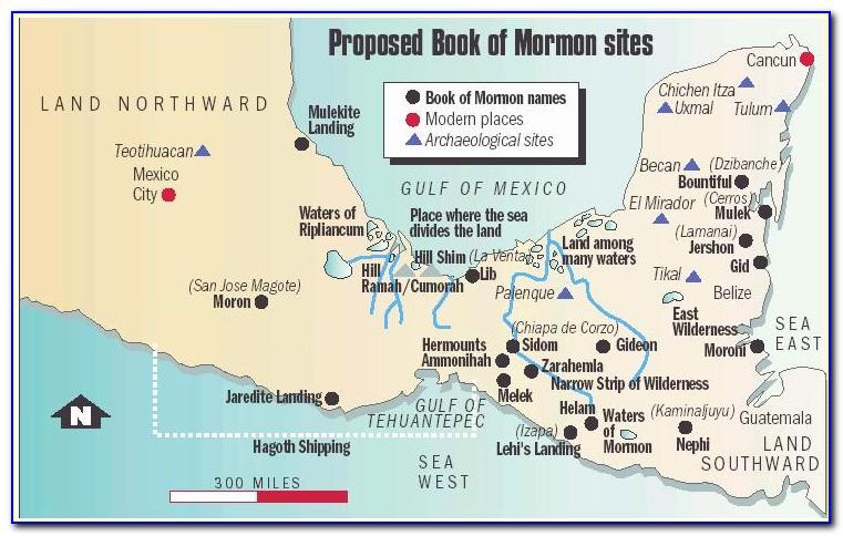 Book Of Mormon Maps Cities