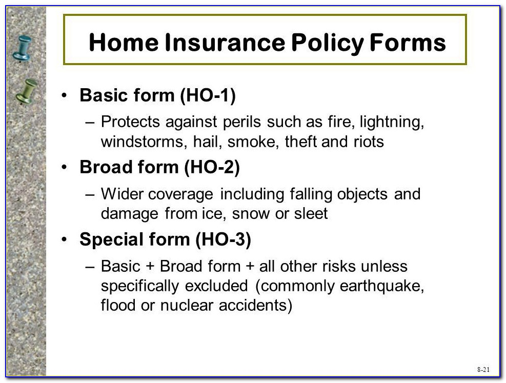 Broad Form Insurance Quotes