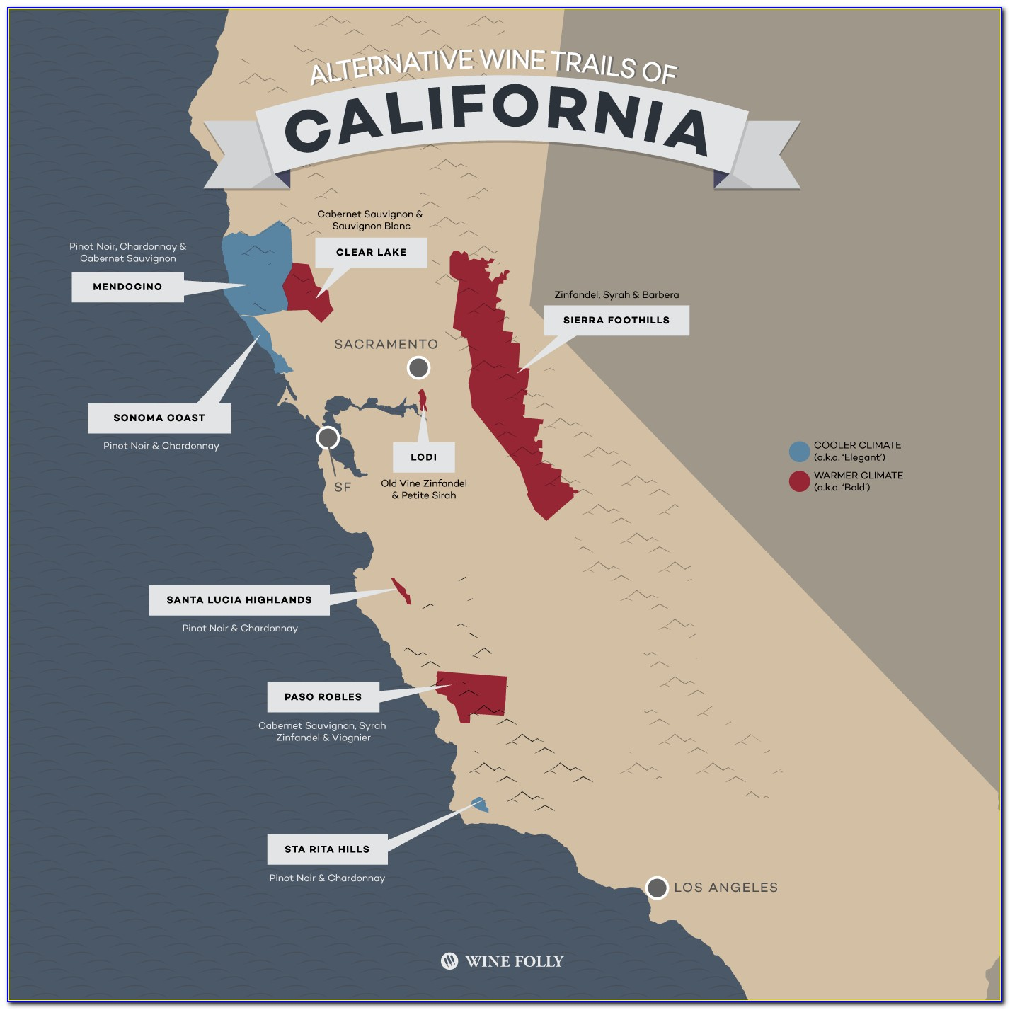California Winery Fires Map