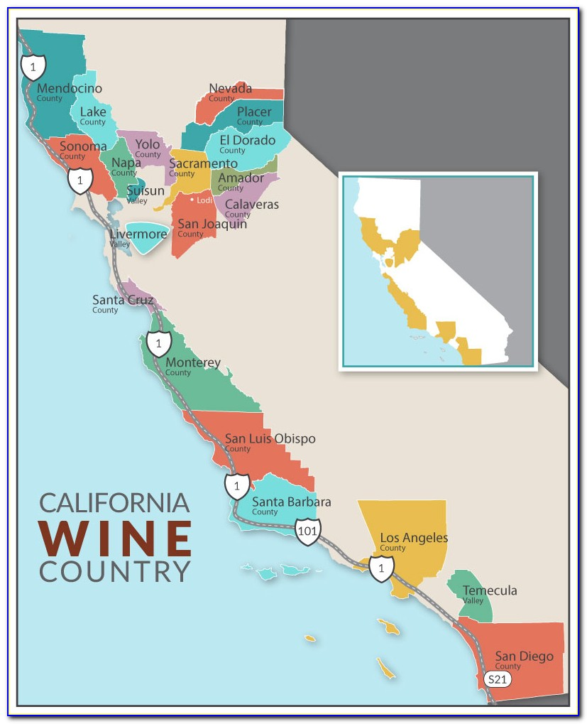 California Winery Trail