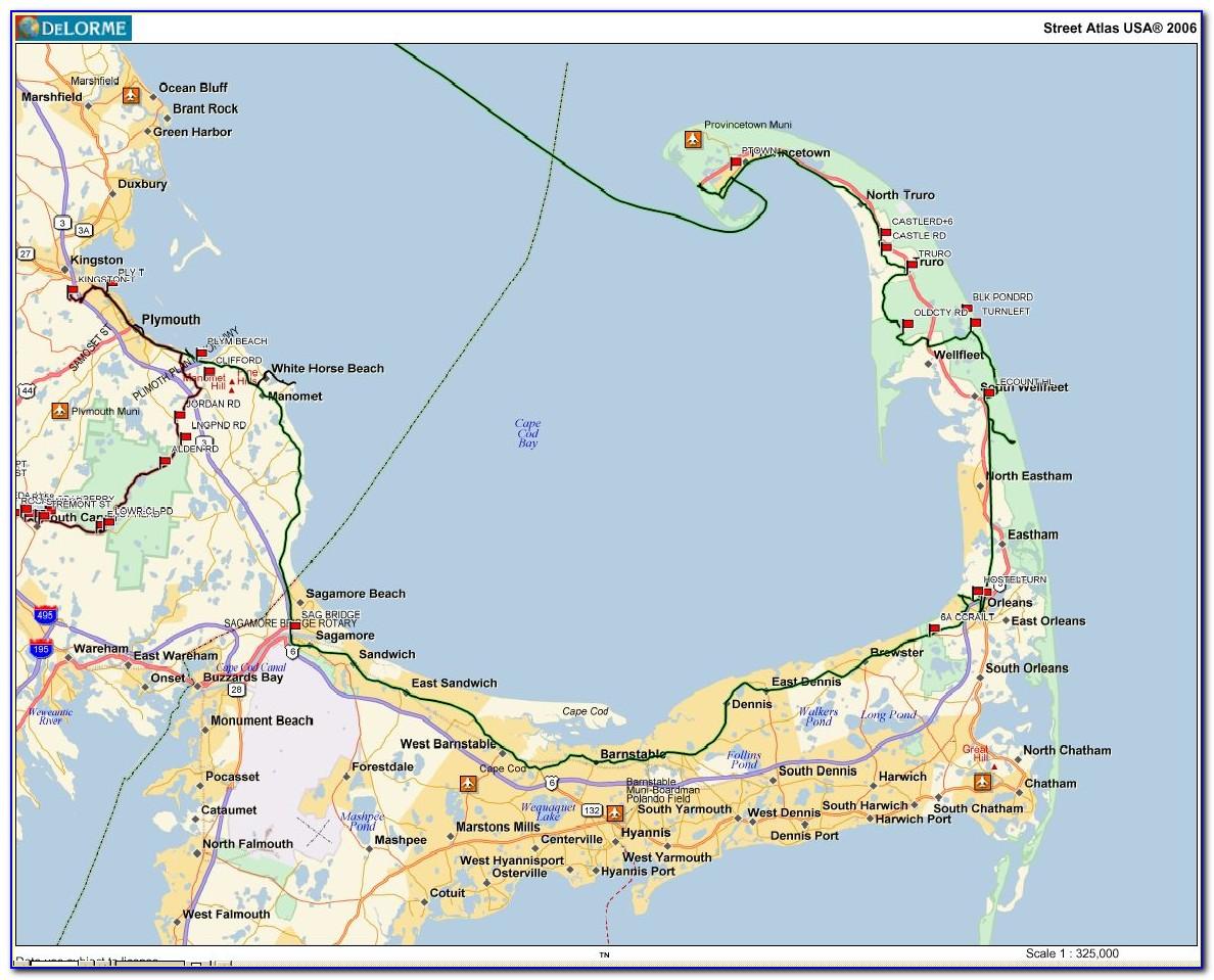 Cape Cod Maps Google